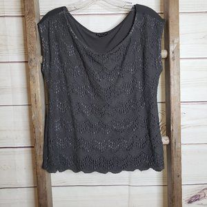 3/$20 ⭐ Express Lace Front Top - S